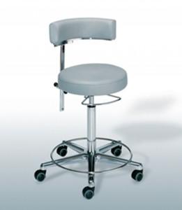 scaun Belmont cu spatar pentru examinator